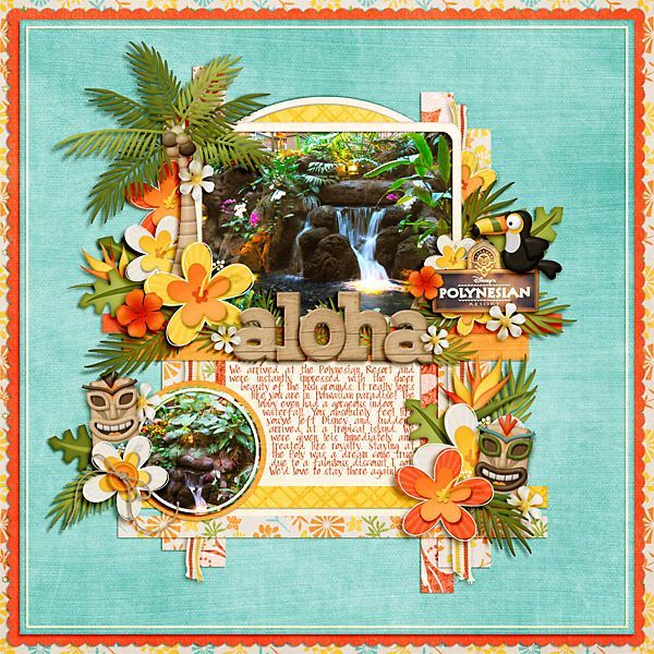17 Best Images About Hawaii Scrapbook Ideas On Pinterest