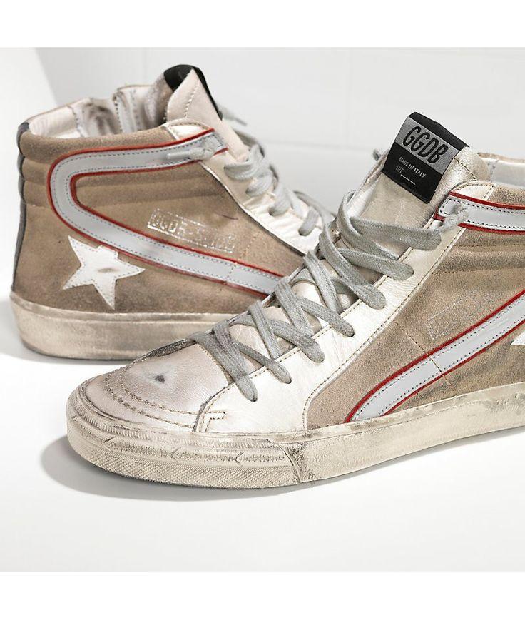 Golden Goose Canvas Slide Sneakers in . rxlRA2H3V