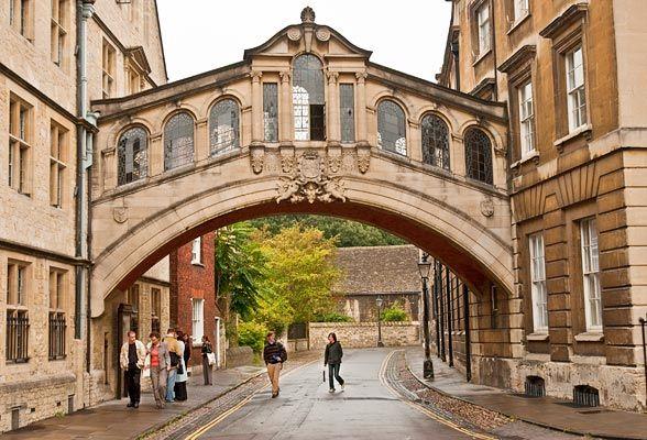 Oxford's Bridge of Sighs