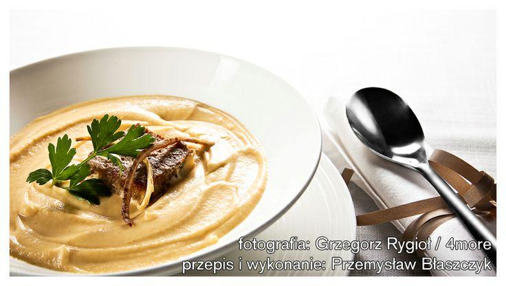 Mus gruszkowo-pietruszkowy - #przepis na zupę  http://pozytywnakuchnia.pl/mus-pietruszkowo-gruszkowy/  #gruszki #zupa #obiad #kuchnia