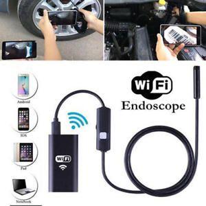 a wifi camara boroscopio endoscopio inspeccion 8mm impremeable para android iphone