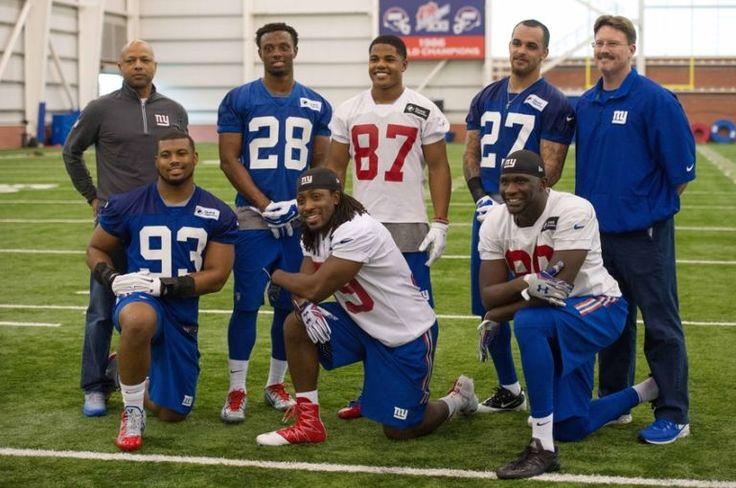 2016 NY Giants Draft Class. CB. Eli Apple, WR. Sterling Shepard, S. Darian Thompson, LB. B.J. Goodson, RB Paul Perkins, Te Jarell Adams.