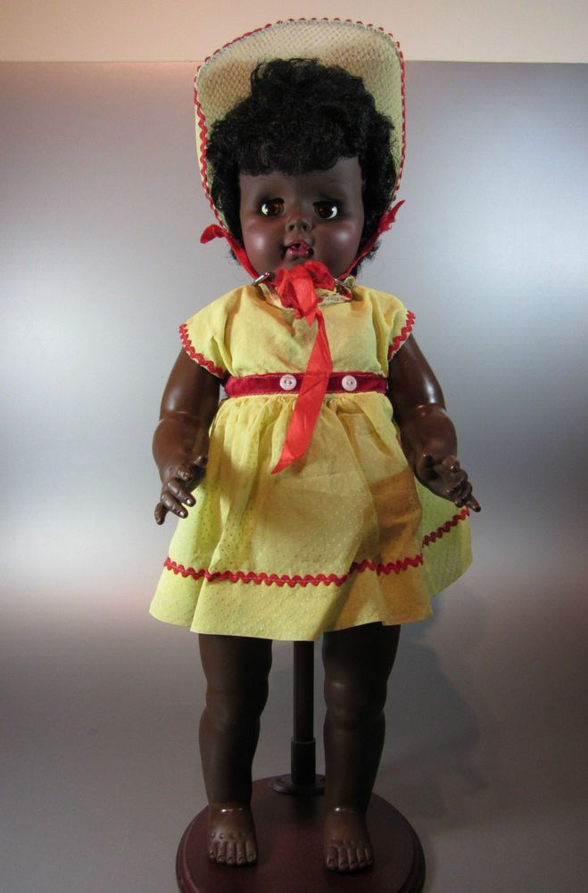 17 Best Images About Vintage African American Dolls On Pinterest