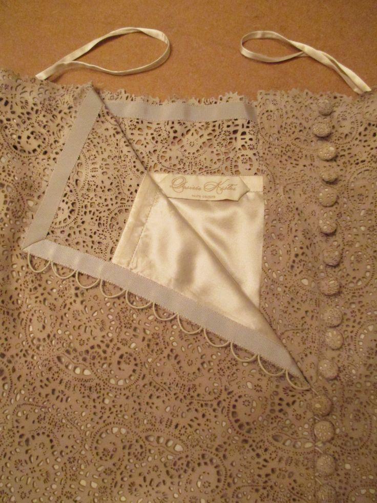 CHARLOTTE - Skirt lining and bias trim