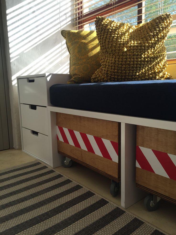 Boy's bedroom storage