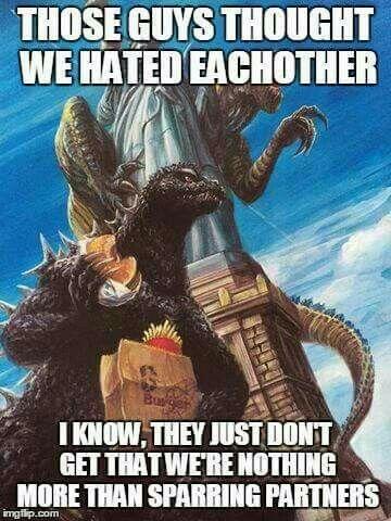 Godzilla and the renamed Zilla