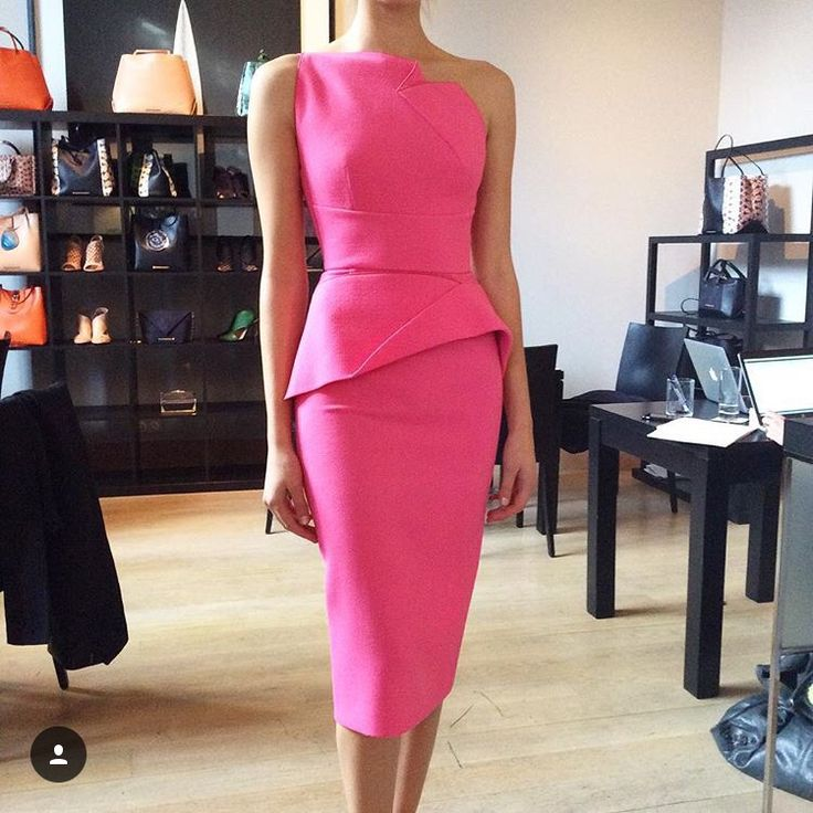 Awesome interview dress by Roland Mouret