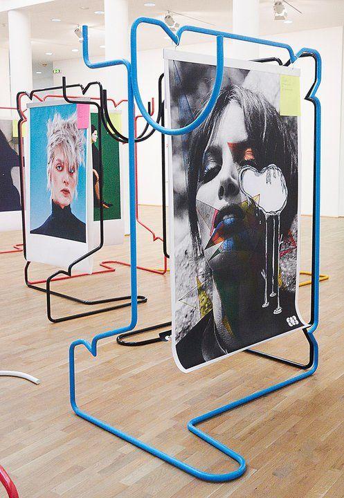 M Paris installation & posters