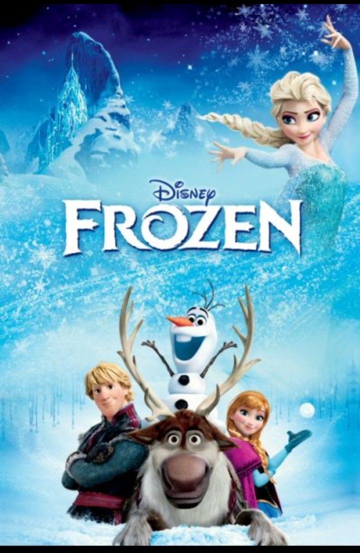 Frozen Movie Poster. (With images) Animated movies, Kid