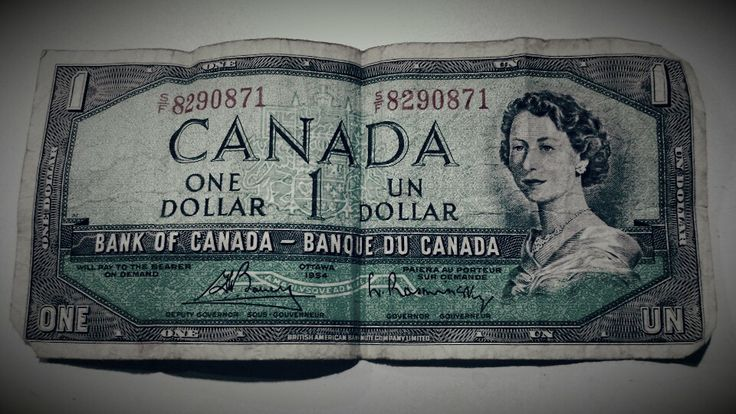 Canadian dollar bill. I only ever knew the loonie. This looks similar to an America  bill