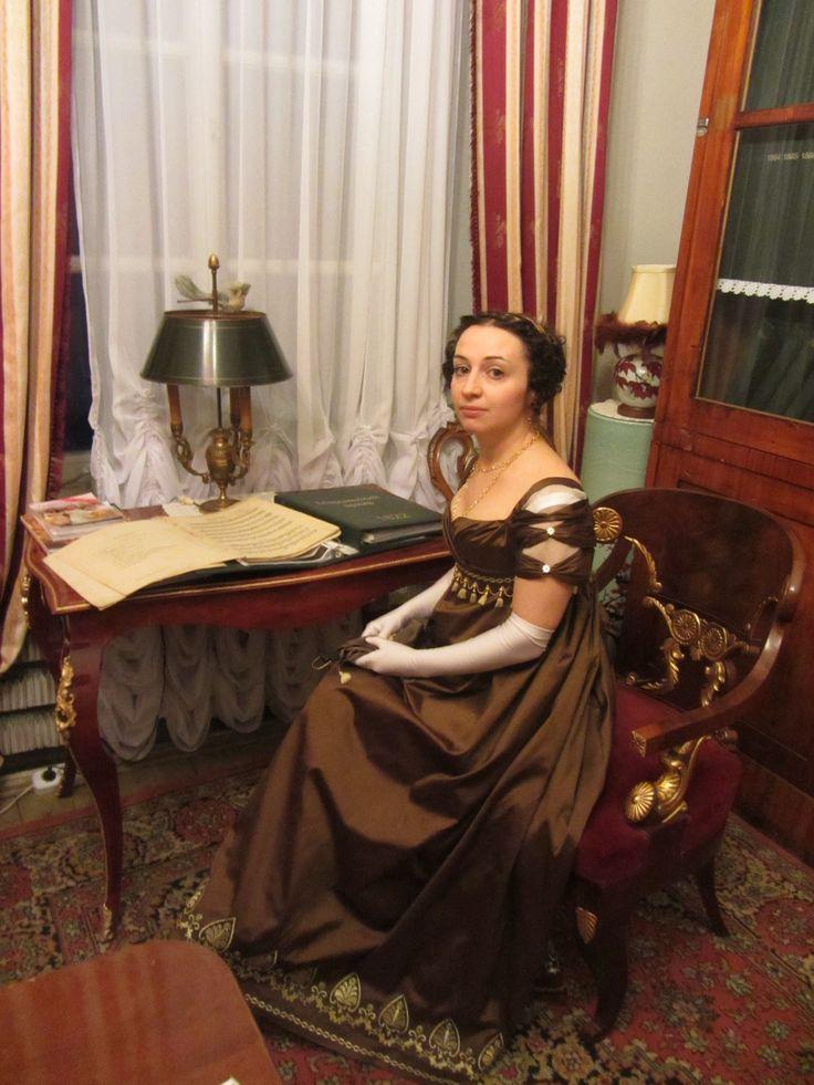 empire dress, 1810s