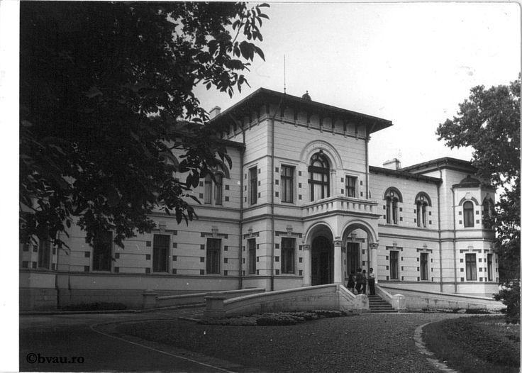 """Muzeul de artă, 1968, Galați, România. Imagine din colecțiile Bibliotecii """"V.A. Urechia"""" Galați."""