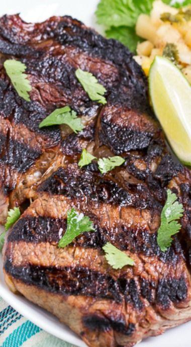 grilled margarita steak