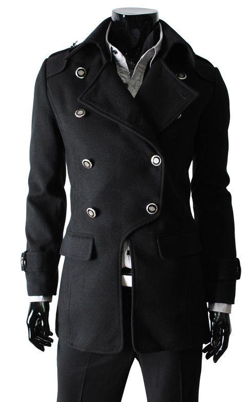 Best 10  Coats for men ideas on Pinterest | Long coats for men ...