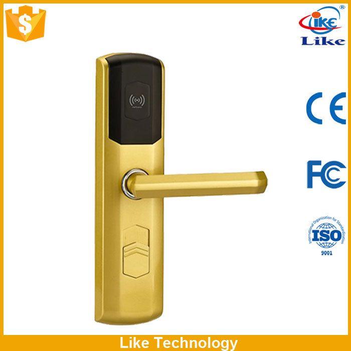 Keyless RFID hotel door security Keyless RFID how do hotel door locks work Durable Use high quality