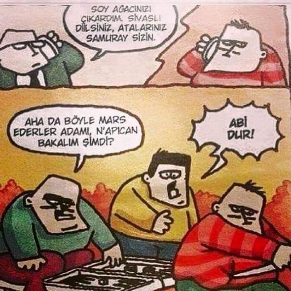 Soy Ağacı Karikatürü Özer Aydoğan | Karikatürname