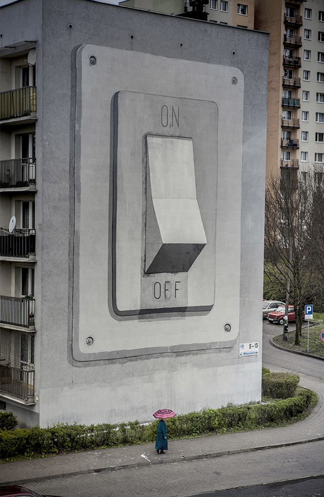 Escif - Switch On, Katowice Street Art Festival