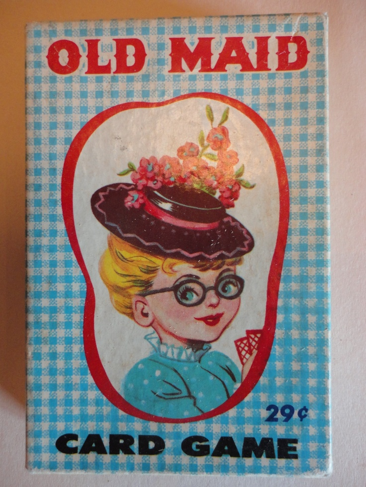 Old Maid card game  Loved playing this!