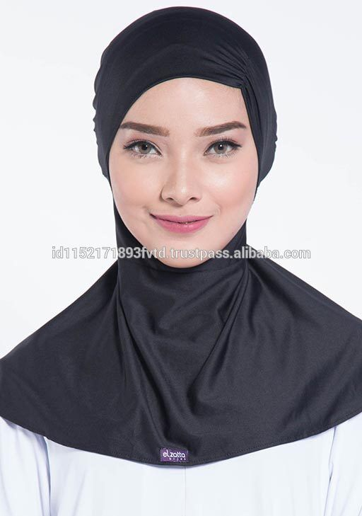 New Model Ninja Underscarf Elzatta Ciput Ciki Black Hijab For The World