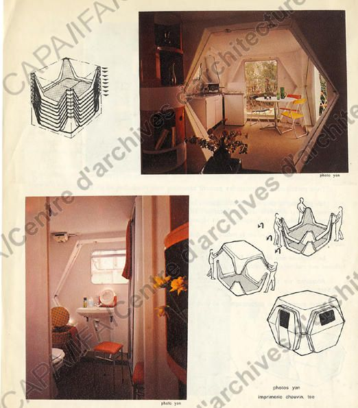 George Candilis' Hexacube