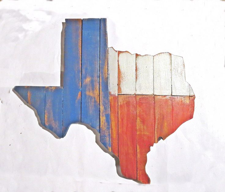 Texas Wall Art, Reclaimed Wood Decor, Rustic State Outline, Rustic Texan  Decor,