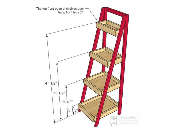 Build a Storage Ladder : Rooms : Home & Garden Television
