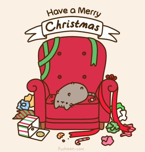 Pusheen the cat....my strange yet hilarious addiction.