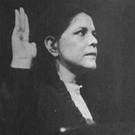 Wilma Mankiller, first female chief of the Cherokee Nation.