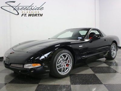 2002 Chevrolet Corvette Z06 Coupe 2-Door VERY CLEAN LOW MILES Z06! CLEAN HISTORY REPORT NORTH TEXAS CAR ONLY 21K MILES!