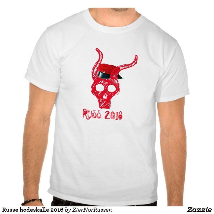 Russe hodeskalle 2016 shirt