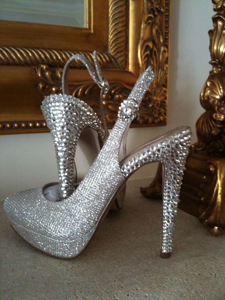 Crystal heels by CSC Dublin  Ireland