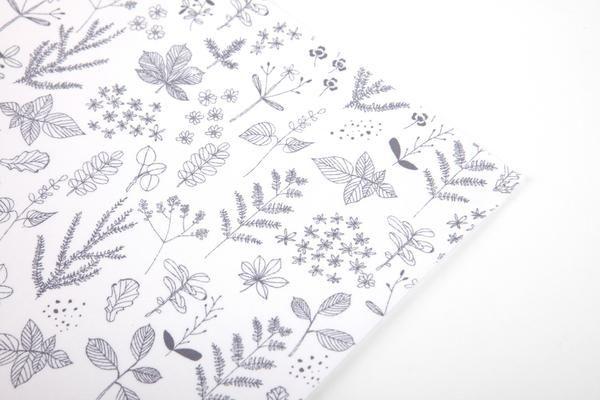 Fabric Sticker : Leaf - Dailylike Canada