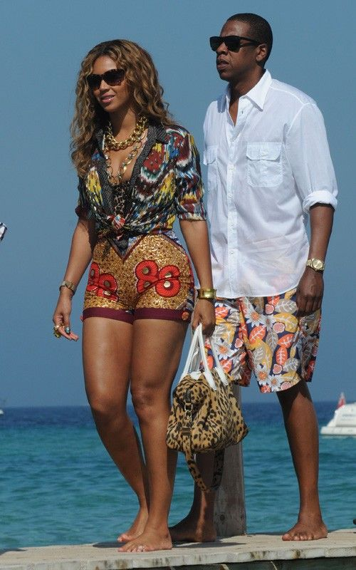 Beyonce In African Print Boxing Kitten Ciaafrique African Fashion L 39 Afrique C 39 Est Chic