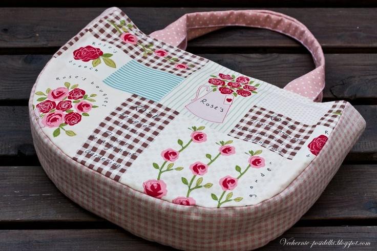Розовые сумки / Rose bags - Вечерние посиделки