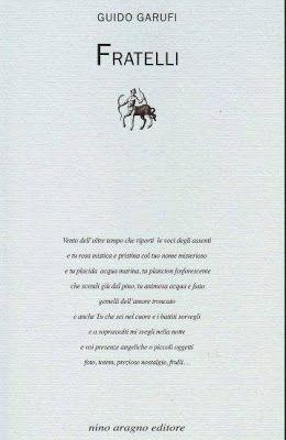 """Il Magazine di UT: Nota di lettura su """"Fratelli"""" di Guido Garufi"""