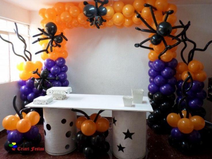 M s de 25 ideas incre bles sobre centros de mesa de for Centros de mesa para halloween
