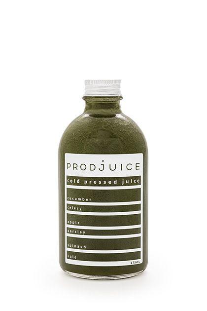 Spinach kale celery cucumber parsley apple   Prodjuice www.prodjuice.com.au