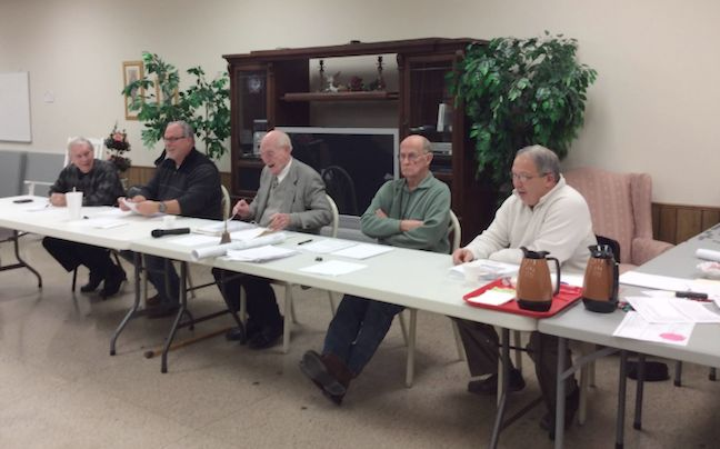Marion city council holds meeting at senior citizen building in wake of city hall leak