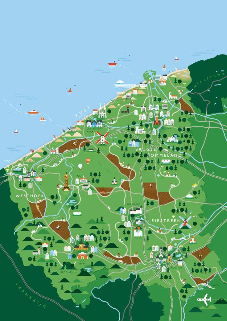 West-Flanders - Belgium.