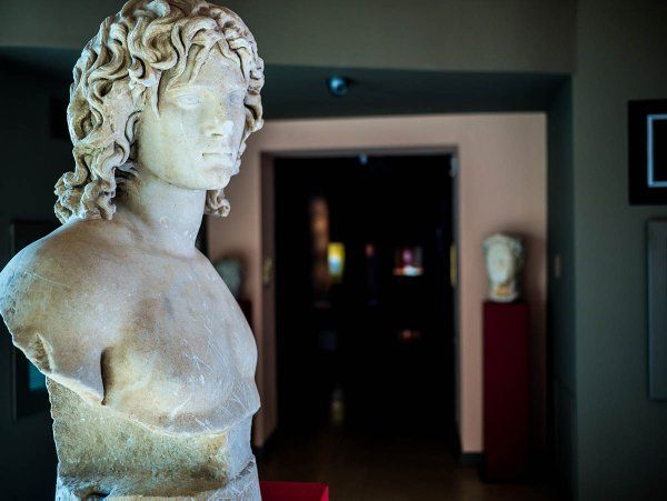 Bust of the river-god Olganos in the Archaeol. Museum of #Veria. Pic @ DiscoverVeria #Macedonia #Greece #archaeology