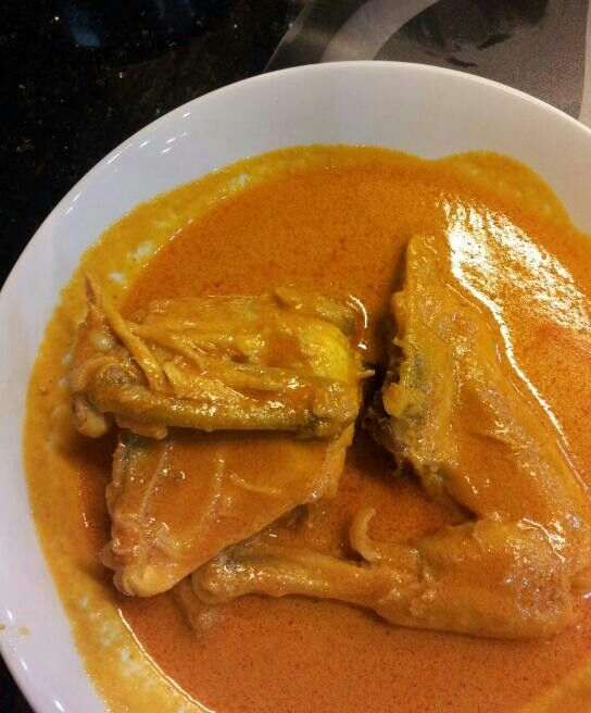 Gulai ayam. One of the most famous Padang's food..