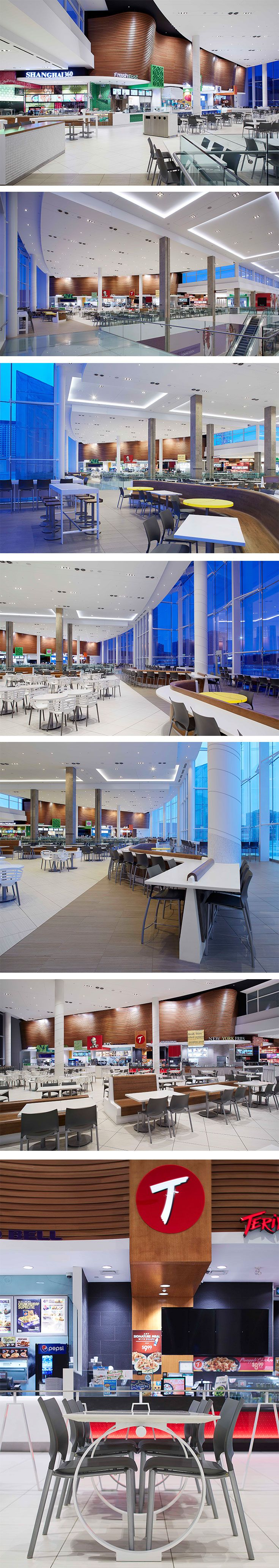 Erin Mills Town Centre Food Court in Mississauga, ON - designed by GH+A (in collaboration with MMC Architects)