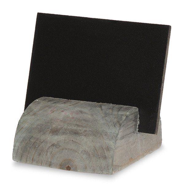 Small Chalkboard Stand w/Wood Base