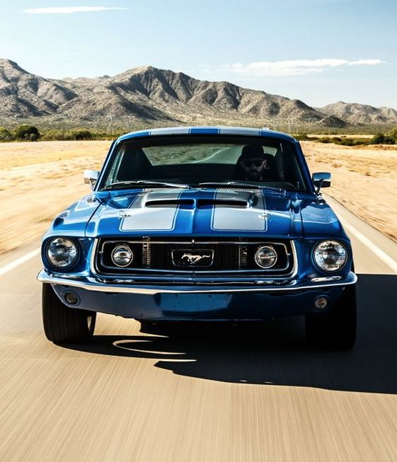 67 FORD MUSTANG GT Amazing photo