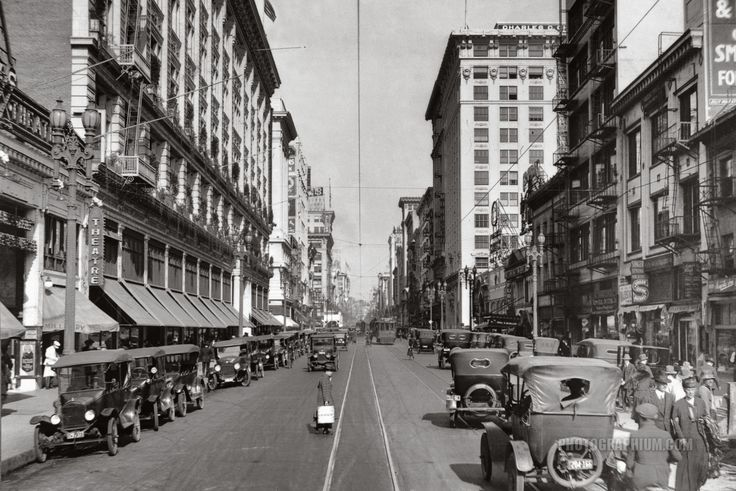 File:View of 6th Street looking east from Broadway, Los Angeles ...