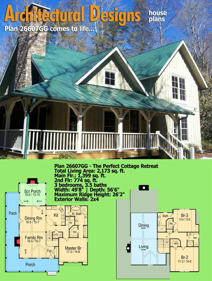 The 309 best Rugged and Rustic House Plans images on Pinterest