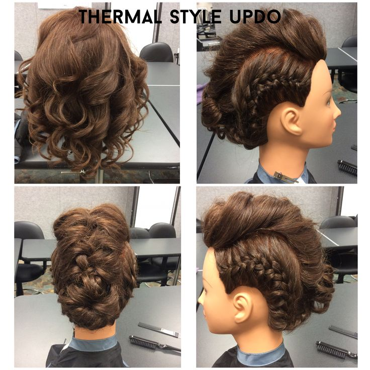 thermal style hair 28 best manikin work images on cosmetology 1731 | e5eee2bb8ae73d41ecfa1ac066719d73 updos styles