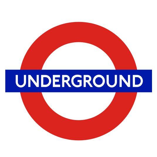 London Underground - P22 Johnston Underground Regular, which is a humanist sans serif font