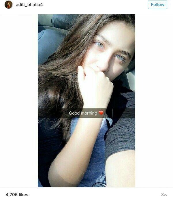 Gorgeous Aditi bhatia wid her original green weapon eye