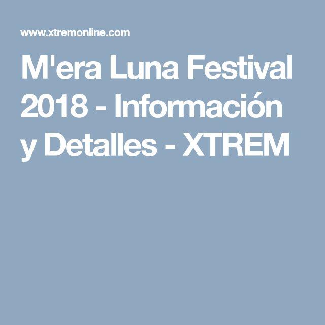 M'era Luna Festival 2018 - Información y Detalles - XTREM